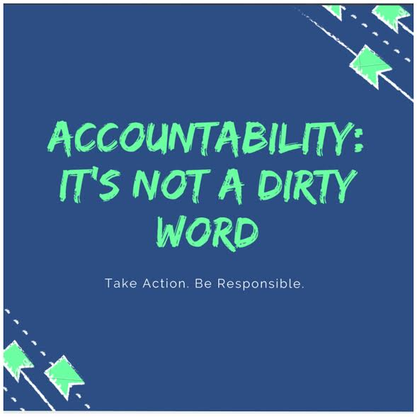 accountability not dirty